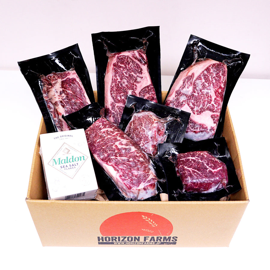 Morgan Ranch Beef Gift / Bundle Set - Lincoln (6 Steaks) - Horizon Farms