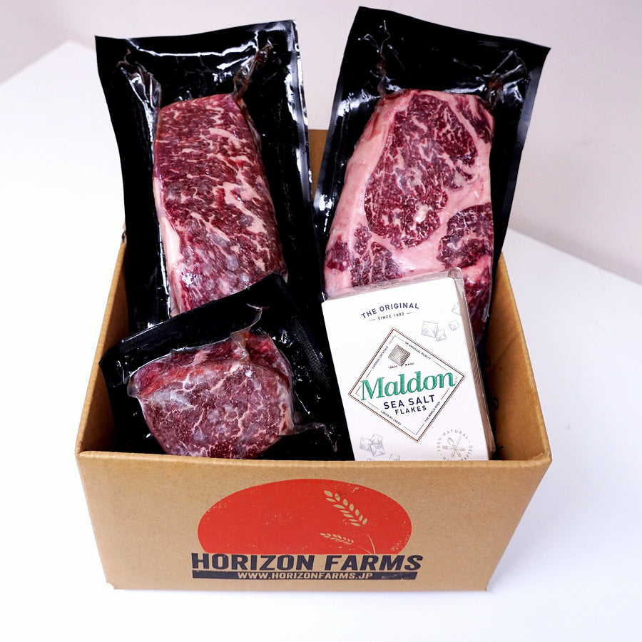 Morgan Ranch Beef Gift / Bundle Set - Fremont (3 Steaks) - Horizon Farms