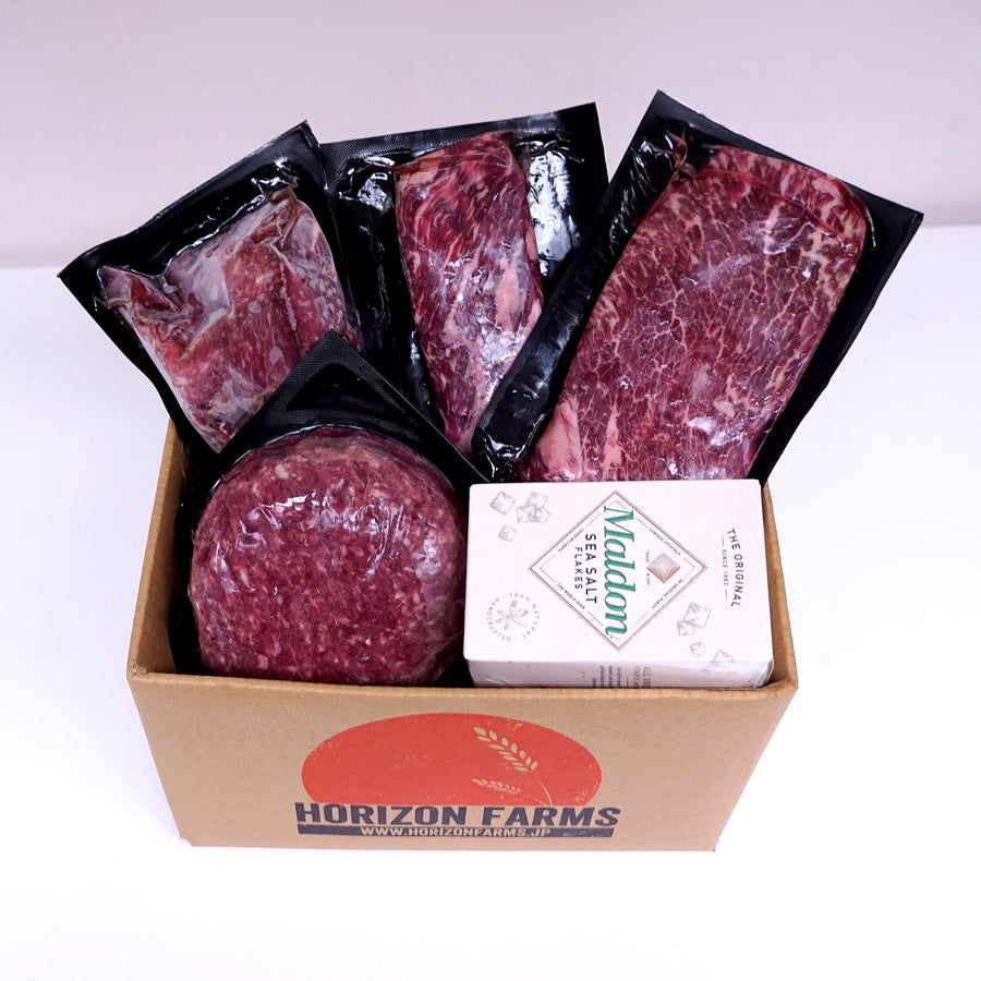 Morgan Ranch Beef Bundle Set - Burwell (Serves 7)