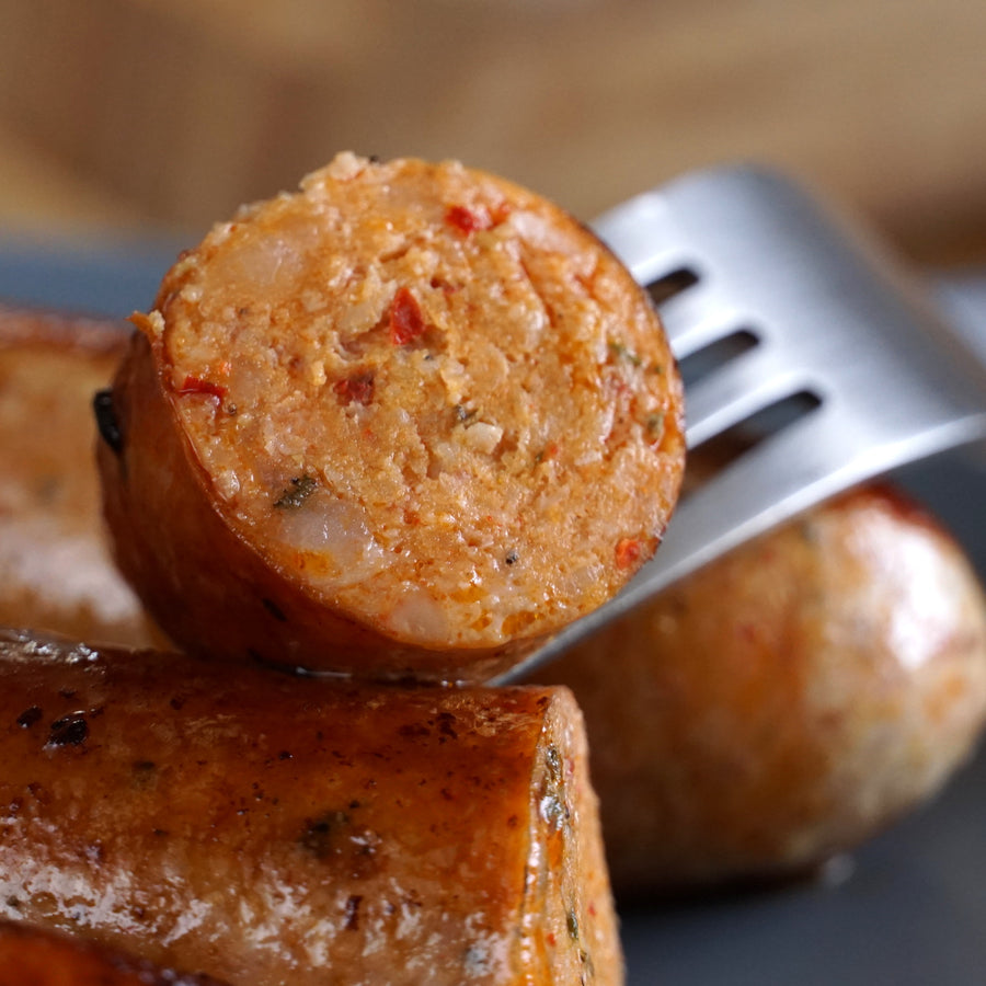 All Natural Hot Italian Sausage (3pc) - Horizon Farms