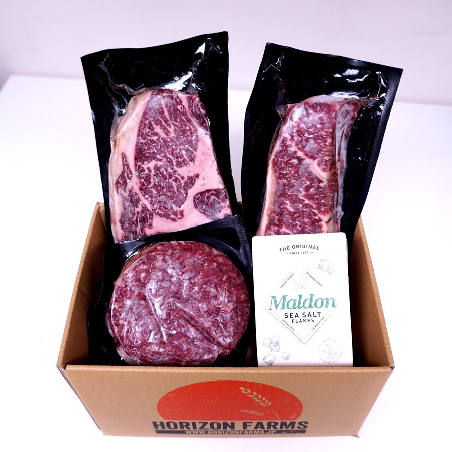 Morgan Ranch Beef Bundle Set - Kansas (Serves 5) - Horizon Farms