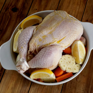 New Zealand Certified Organic Free-Range Whole Chicken B-Grade (1.3kg) - Horizon Farms