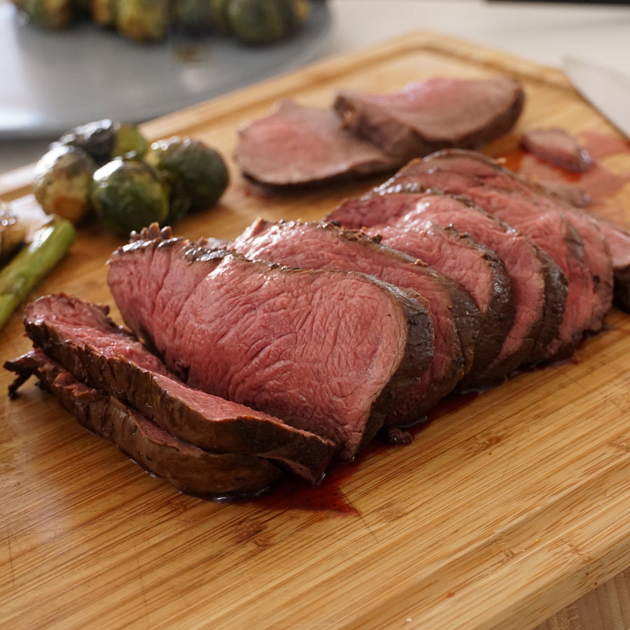 100% Grass-Fed Australian Beef Tenderloin Filet Roast (500g - 1.2kg)