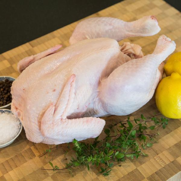 Free Range Organic Whole Chicken (1.3kg)