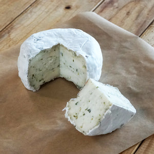 All-Natural Artisan Whole Milk Cheese - Basil (350g)