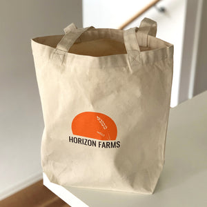 High-Quality Eco Tote Bag 100% Cotton Canvas Unbleached - (Also Available For Free!) - Horizon Farms