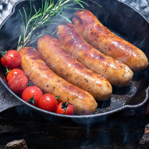 All Natural Hot Italian Sausage (4pc) - Horizon Farms
