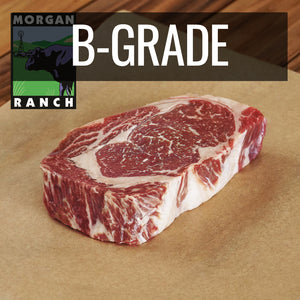 Morgan Ranch Beef Ribeye Steak B-Grade (380g) - Horizon Farms