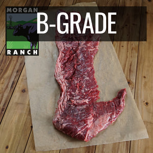 Clearance Sale! Morgan Ranch Beef Skirt Steak B-Grade (1.5kg+) - Horizon Farms