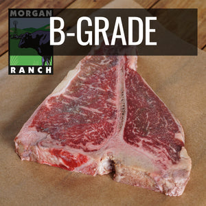 Morgan Ranch Beef Porterhouse Steak B-Grade (500g) - Horizon Farms