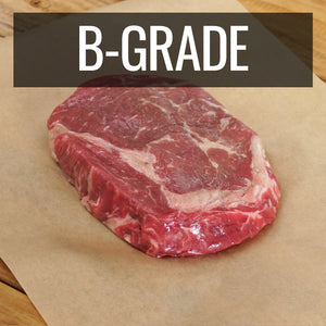 New Zealand Grass-Fed Grain-Finished Ribeye Steak B-Grade (250g) - Horizon Farms