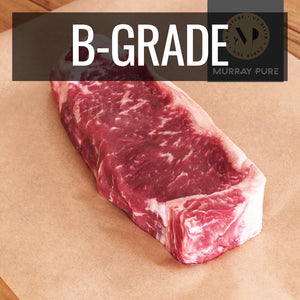 Murray Pure Premium 100% Grass-Fed Beef Striploin Steak (250g) - Horizon Farms