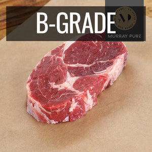 Murray Pure Premium 100% Grass-Fed Beef Ribeye Steak (250g) - Horizon Farms