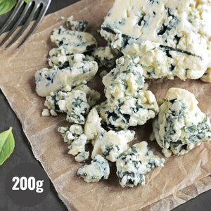 All Natural Italian Gorgonzola Blue Cheese Crumbles  (200g) - Horizon Farms