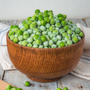 Certified Organic Pre-Cooked Green Peas (2.5kg)