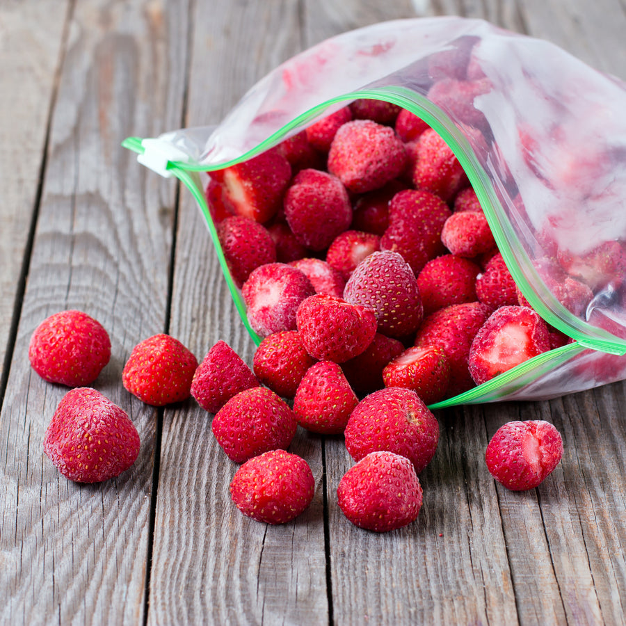 Certified Organic Frozen Strawberries from Chile (1kg) - Horizon Farms