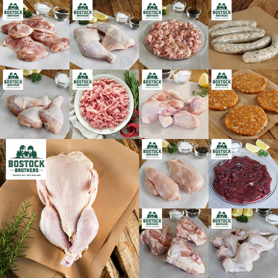 Bostock Brothers Free-Range Chicken Gift/ Bundle Set - Napier (6.5kg) - Horizon Farms