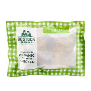 New Zealand Certified Organic Free-Range Chicken Whole Legs (500g) - Horizon Farms