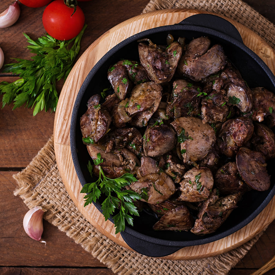 Free Range Organic Chicken Livers (500g) - Horizon Farms