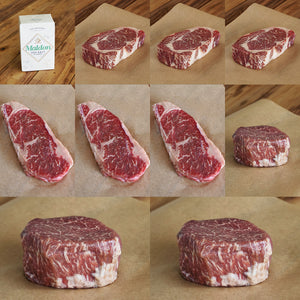 Morgan Ranch Beef Gift / Bundle Set - Denver (9 Steaks) - Horizon Farms