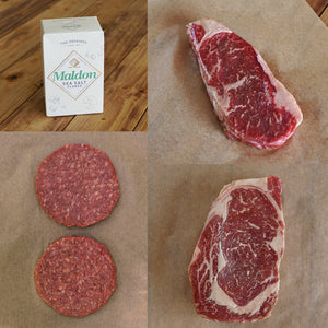 Morgan Ranch Beef Gift / Bundle Set - Kansas (4 Portions) - Horizon Farms