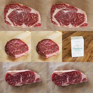 Morgan Ranch Beef Bundle Set - Lincoln (Serves 6) - Horizon Farms