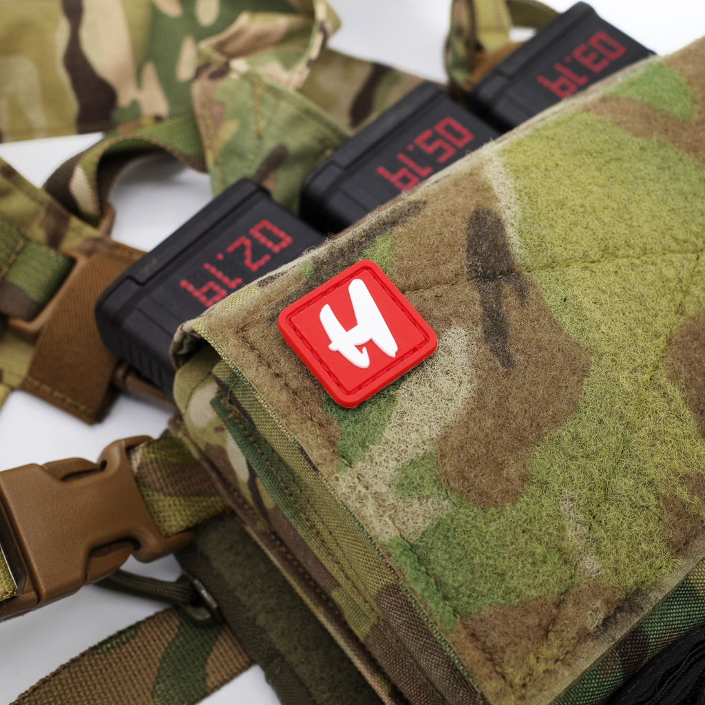 Red H PVC Patch