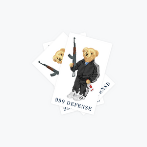 Bear Defense AK Sticker