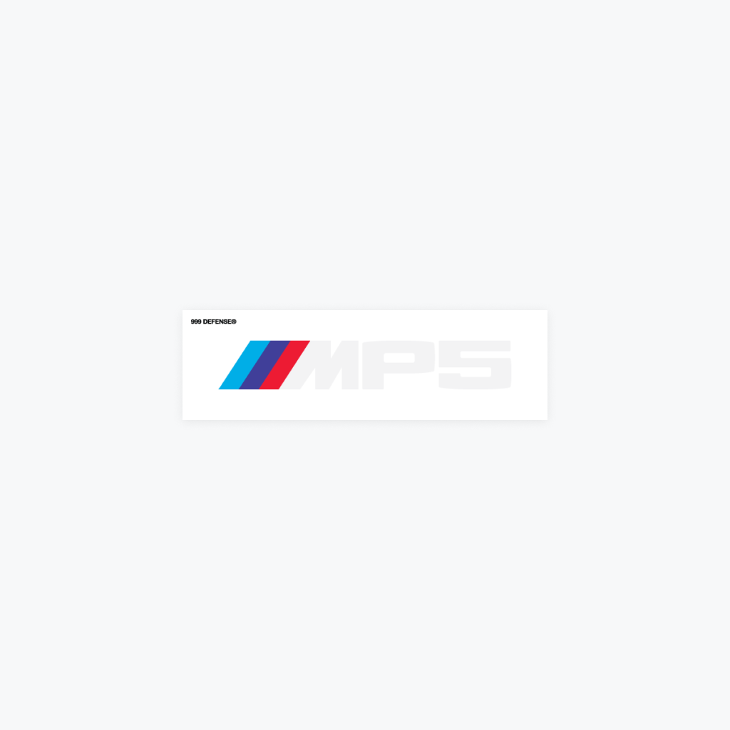 MP5 Sticker Pack