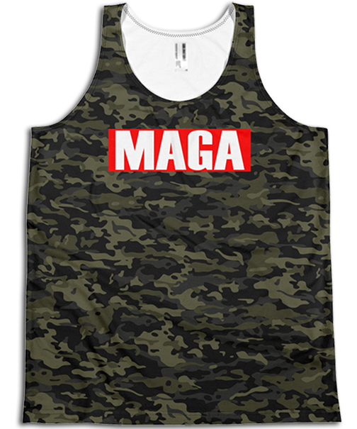 All Over Tank Tops - Men