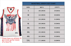 Come and Take it 2nd Amendment Basketball Jersey