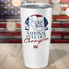 National Pull Out Champion Tumbler 20oz