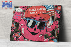 It's Cool to MAGA Canvas-- Camo
