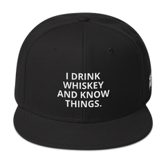 I Drink Whiskey Hat