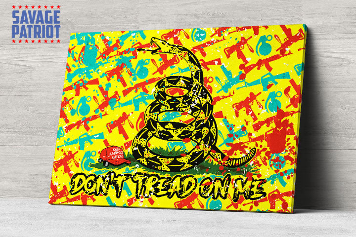 Don't Tread On Me KAG Edition Canvas