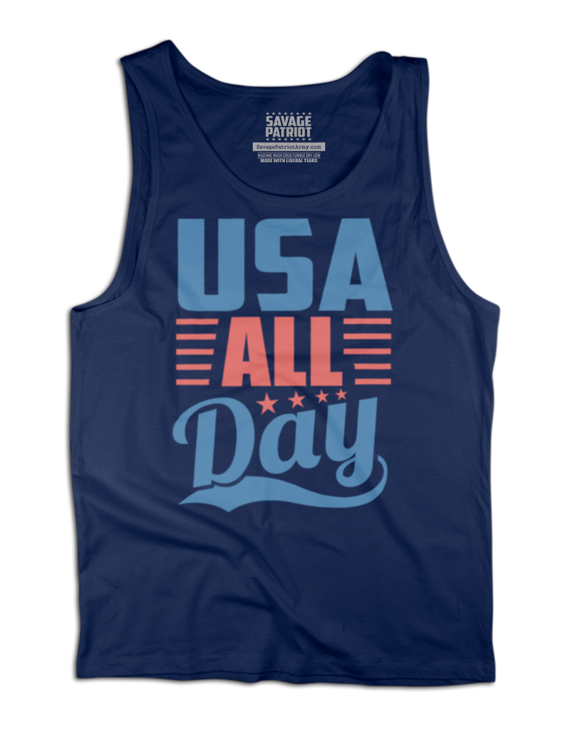 USA All Day Tank Top