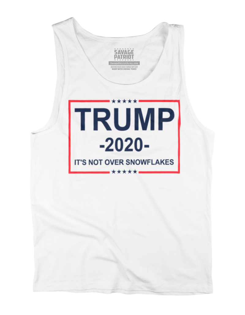 It's Not Over Snowflakes Tank Top