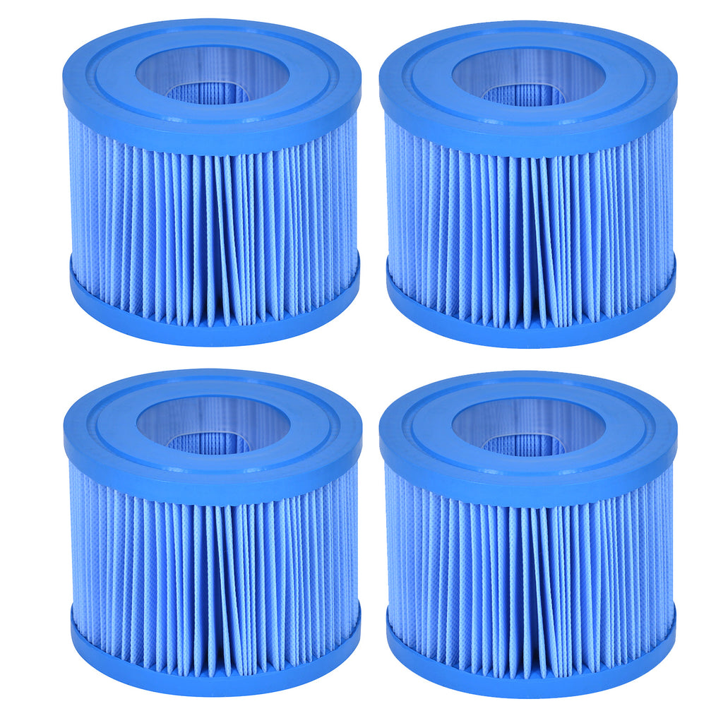 Wave Spa Anti-Bacterial Replacement Filter Cartridge - 4 Pack (2020 Onwards)