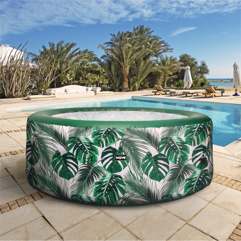 PRE-ORDER (Delivery 11th August 2021) - Atlantic Plus Tropical Inflatable Hot Tub (4-6 Person)
