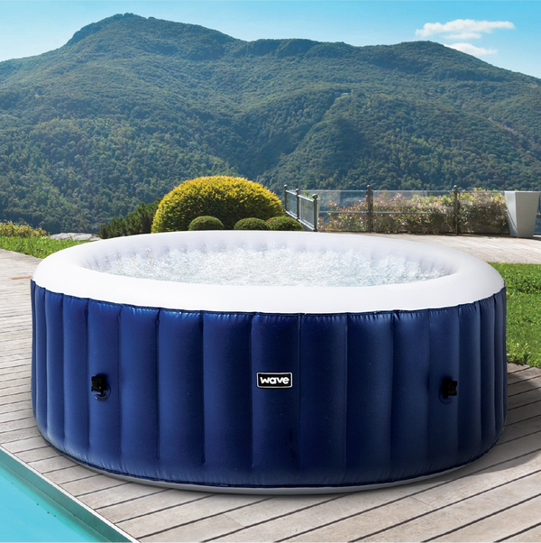 PRE-ORDER (Delivery 16th June 2021) - Wave Spa Atlantic Plus Inflatable Hot Tub (4-6 Person)