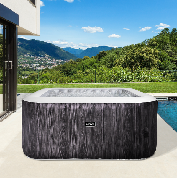 PRE-ORDER (Delivery 14th July 2021) - Pacific Greywood Inflatable Hot Tub (2-4 Person)