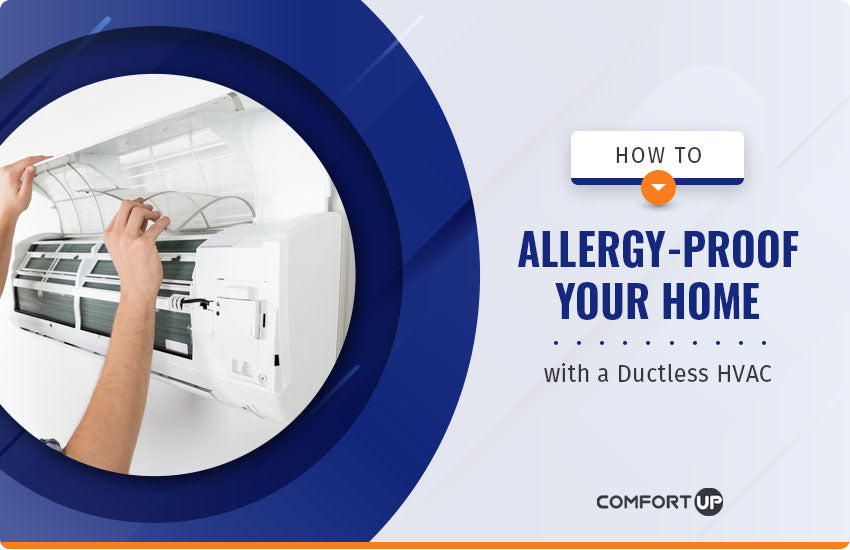 allergy proof your home with ductless hvac