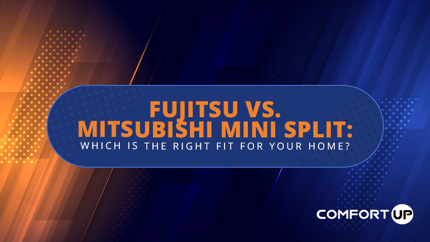 fujitsu versus mitsubishi mini split which is the right fit for your home