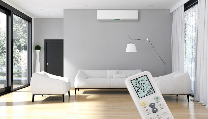 Using an ac remote