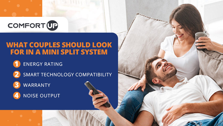what couples look for mini split system