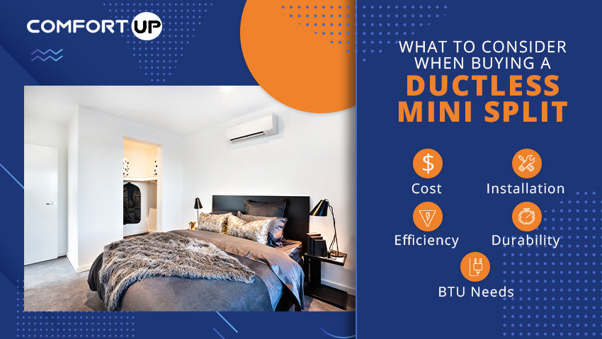 What to Consider When Buying a Ductless Mini Split System