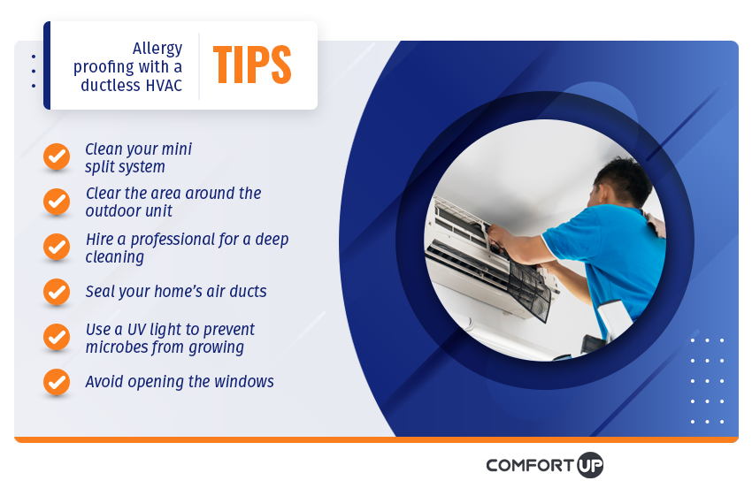 allergy proofing ductless hvac tips
