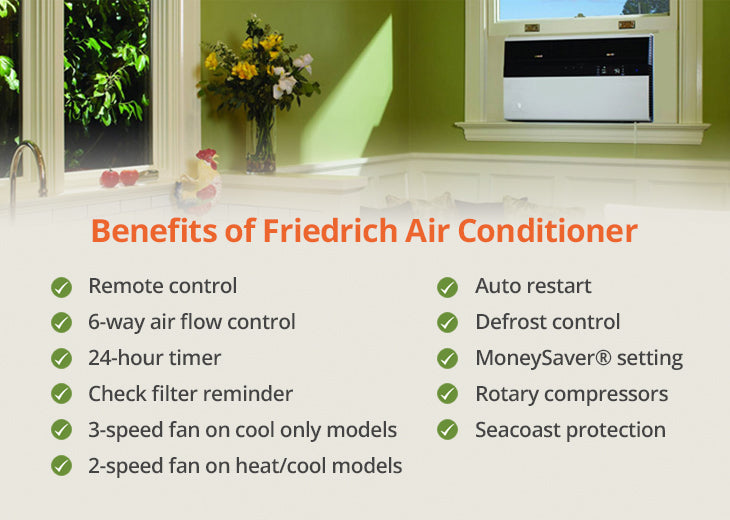 Friedrich air conditioner review