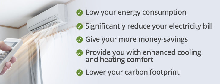 Energy Efficiency and Ductless Air Conditioners, Your Best