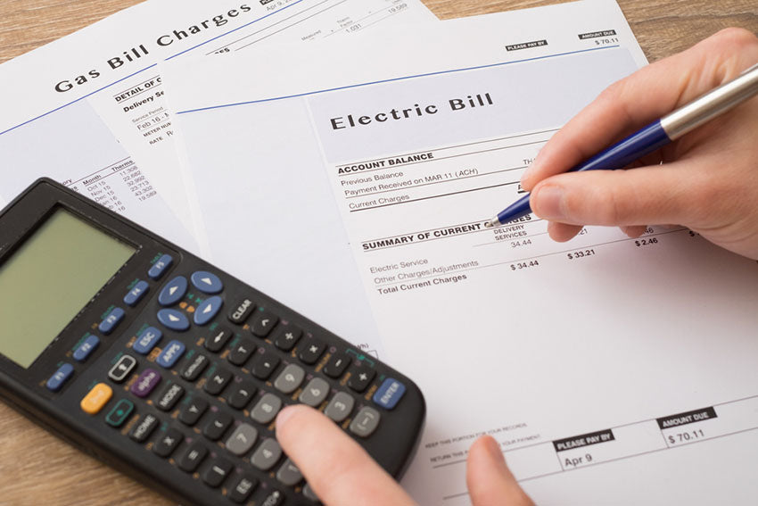 calculating electric bill charges